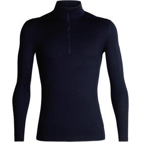 Icebreaker M's 200 Oasis LS Half Zip Shirt Midnight Navy